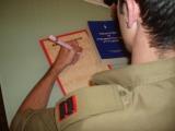 צוואה: קצין חותם על צוואה ביולוגית