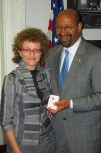 Irit Rosenblum and Michael Nutter, Mayor of Philadelphia